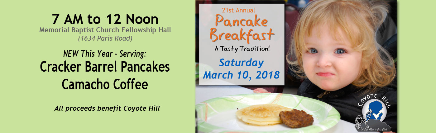 2018 coyote hill pancake breakfast | coyotehill.org