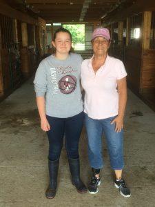 Lynne Mullen, Katie Martin - mission trip