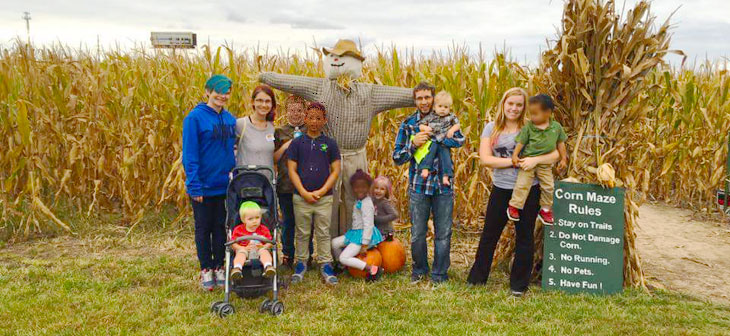 Fall Fest, Corn Maze…and Mom is Always Right