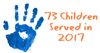 73 children served 2017