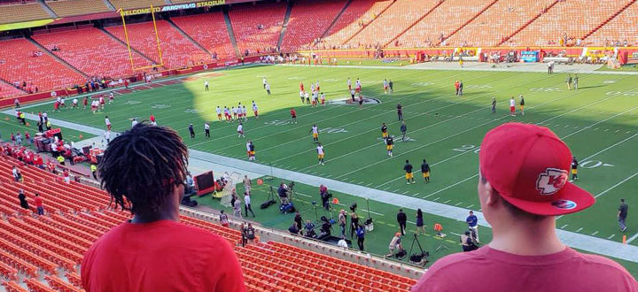Firsts at a Chiefs Game