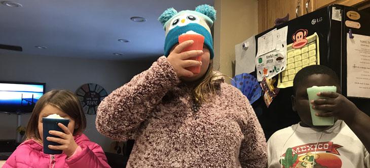 Family Traditions: Snow Ice Cream