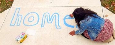 home chalk art | coyotehill.org