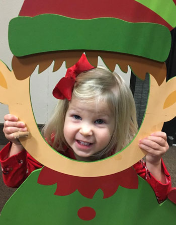 Smiling elf girl | coyotehill.org