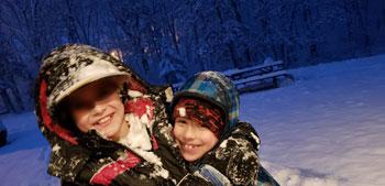 boys hug | coyotehill.org