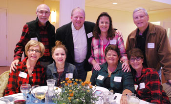 Ed and Colleen Goss table at Boots 'n Bids 2018   coyotehill.org