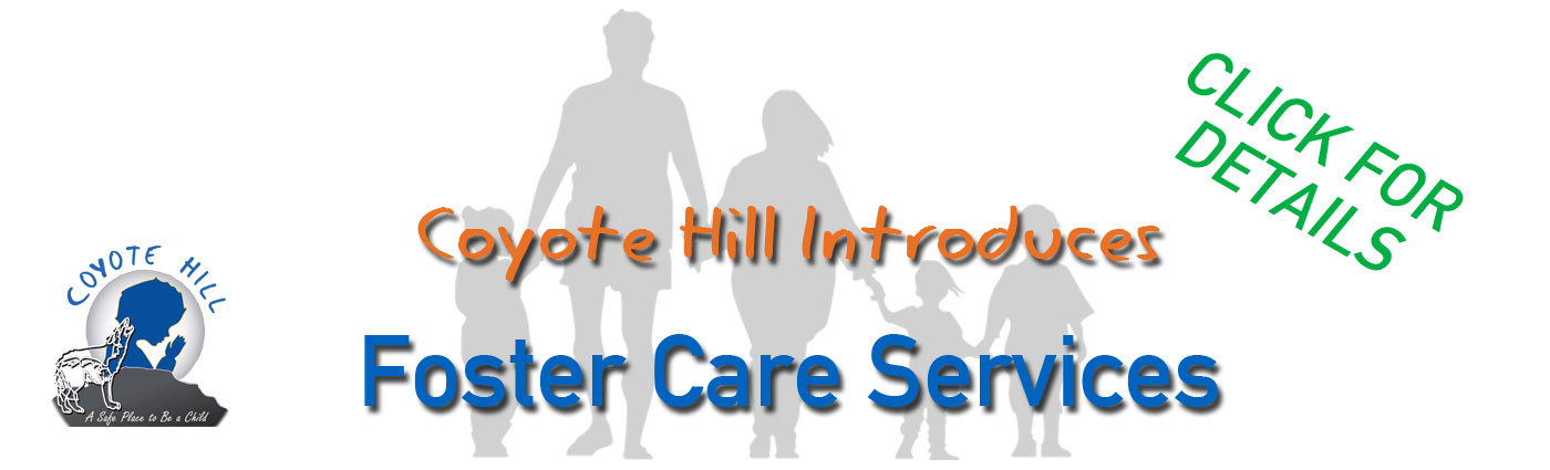Foster Care Services | coyotehill.org