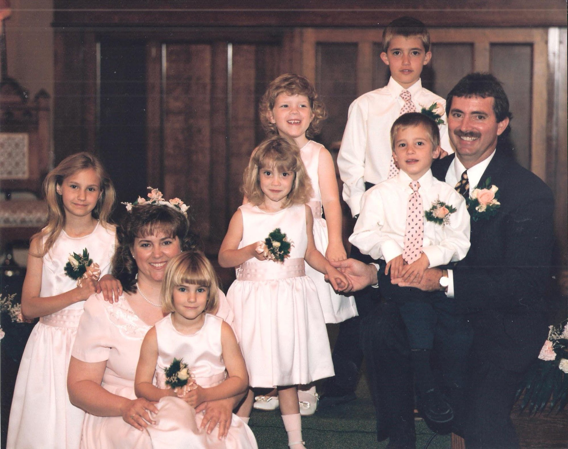 Larry marries Denise, a young widow with two children.