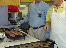 The first Pancake Breakfast fundraisers are held at Memorial Baptist Church.