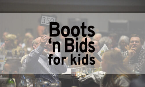 Boots 'n Bids for Kids