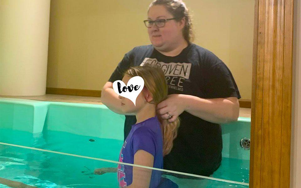 Celebrating a Child's Baptism