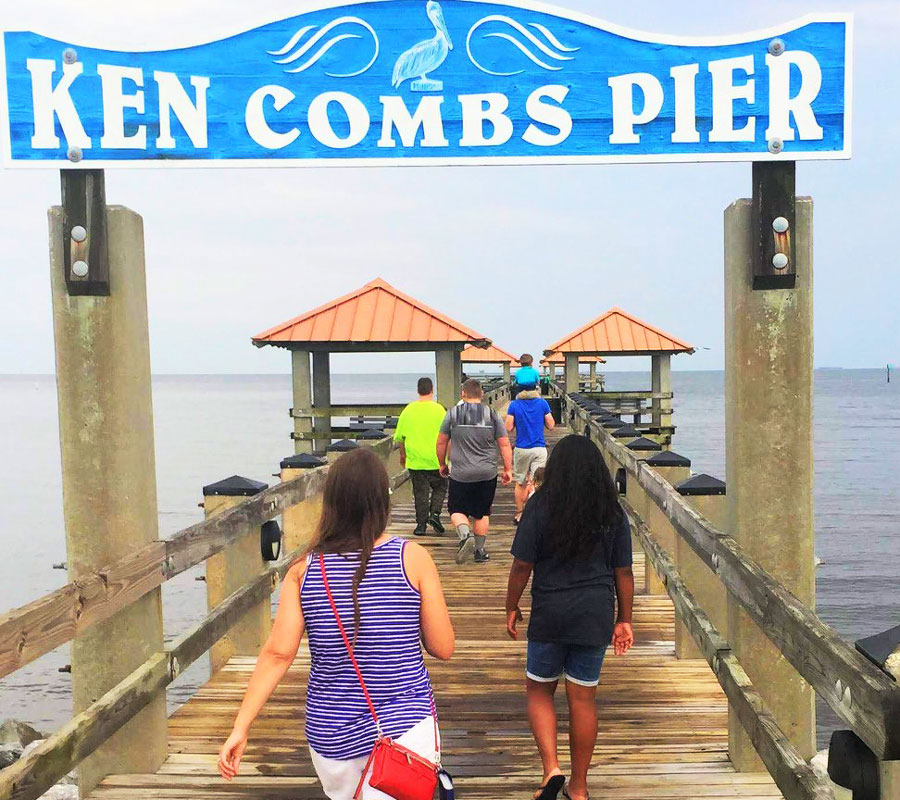 Ken Combs Pier at Gulfport, MS | coyotehill.org